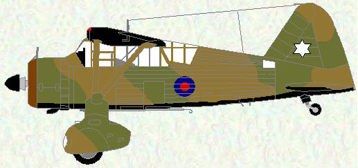 Lysander II as used by No 16 Squadron