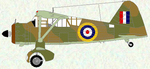 Lysander III as used by No 16 Squadron