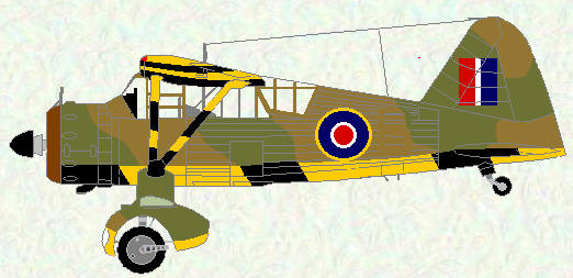 Lysander I as used by No 695 Squadron