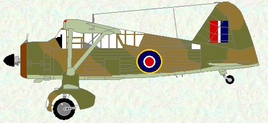 Lysander II as used by No 516 Squadron