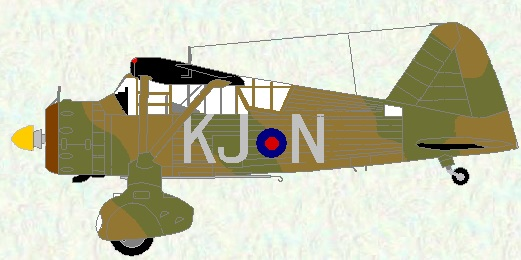 Lysander I of No 16 Squadron