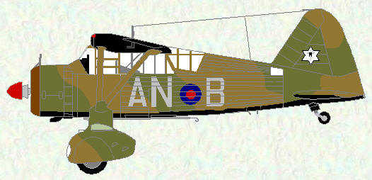 Lysander II of No 13 Squadron