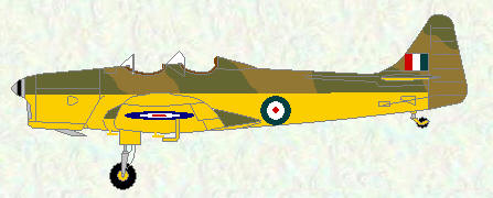 Magister - early WW2 scheme