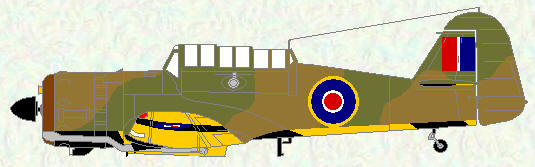 Martinet I as used by No 650 Squadron