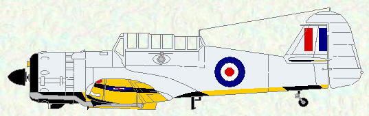 Martinet TT Mk 1 as used by No 5 Squadron