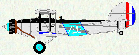 Fairey Seal of No 821 Squadron
