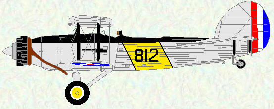 Fairey Seal of No 823 Squadron