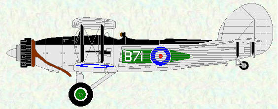 Fairey Seal of No 824 Squadron