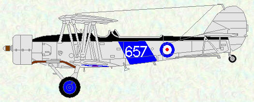 Blackburn Shark of No 820 Squadron