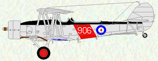 Blackburn Shark of No 822 Squadron