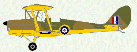 Tiger Moth - early WW2 scheme