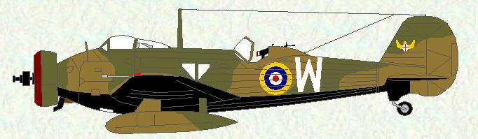Wellesley I of No 14 Squadron - 1938