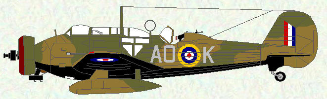 Wellesley I of No 223 Squadron - June 1940