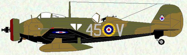 Wellesley I of No 45 Squadron - August 1938