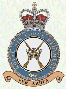 RAF Regiment Badge