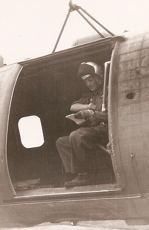 Crewman of No 66 Sqn preparing for a flight 4