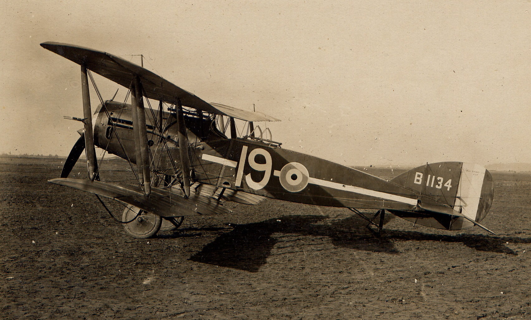 Bristol F2B of No 35 Sqn