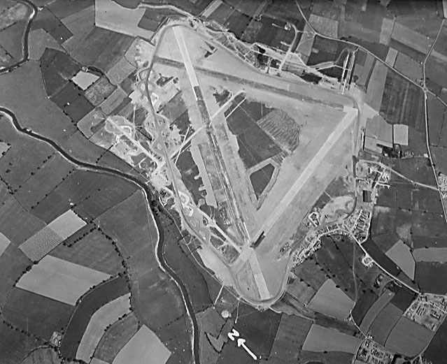 Aerial photo of RAF Skipton-on-Swale