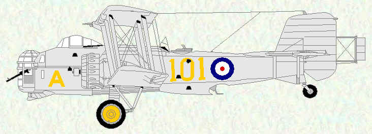 Overstrand of No 101 Squadron