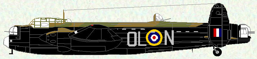 Manchester I of No 83 Squadron