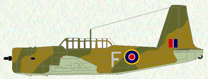 Vengeance I of No 84 Squadron (pre SEAC markings)
